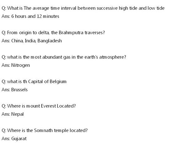 GK question for class 4 - Brainly in