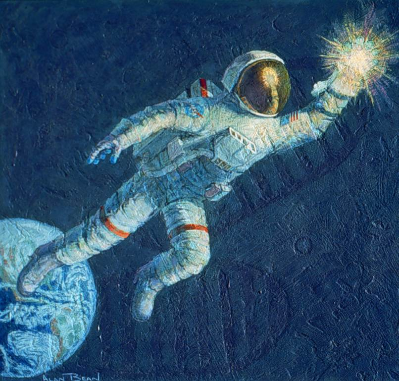 painting on how can i use science for future devlopment ...
