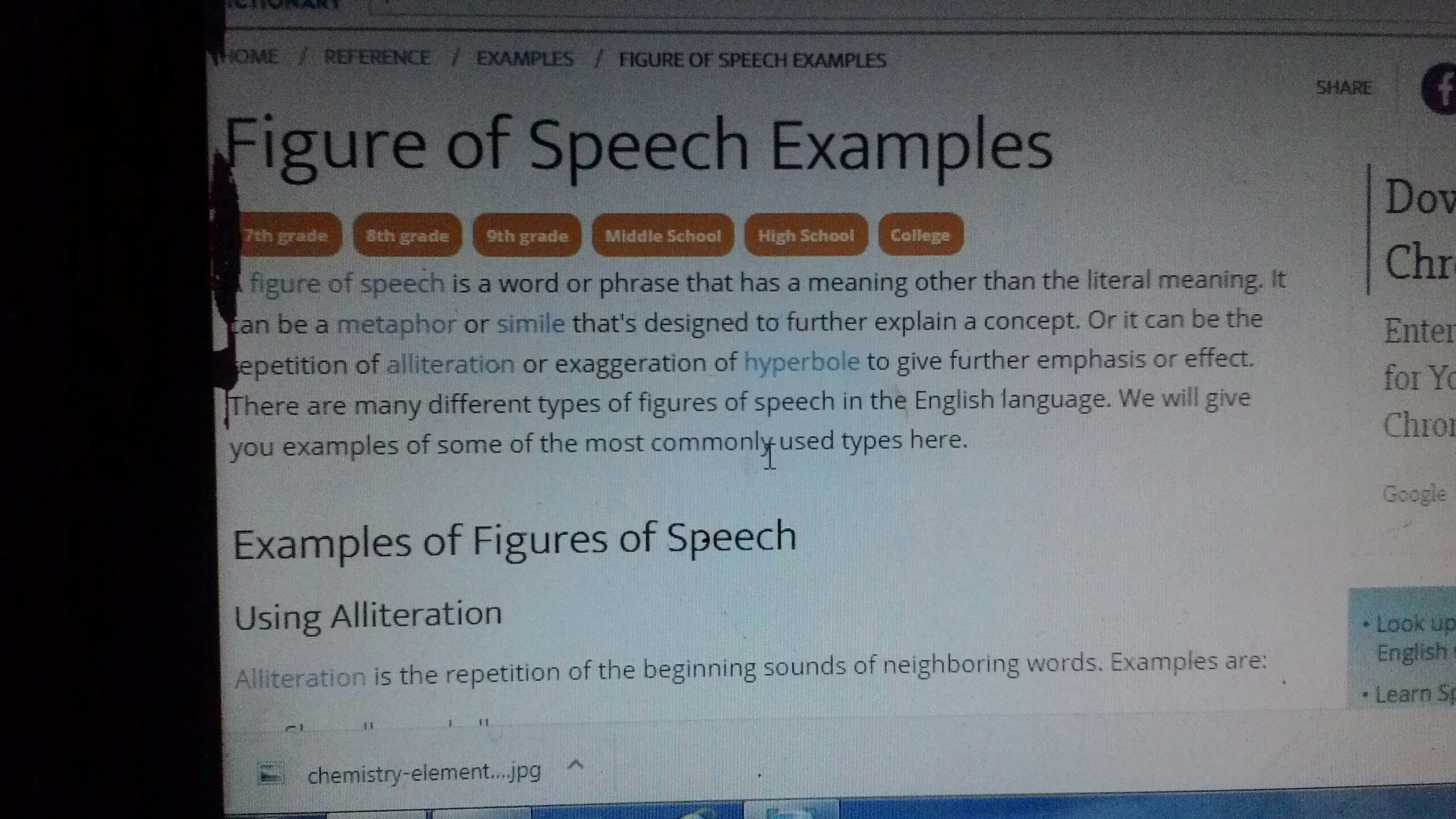 Examples Of Alliteration Figure Of Speech Images Example Cover