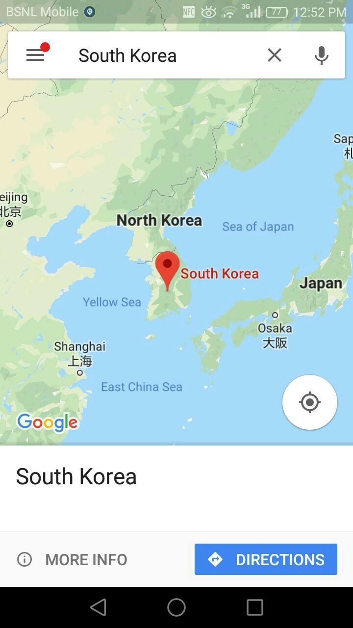 Why Google maps don't show South Korea's map. Open Google ... on swaziland map google, trinidad and tobago map google, cook islands map google, guyana map google, papua new guinea map google, uzbekistan map google, nauru map google, congo map google, belarus map google, austell ga map google, euphrates river map google, cotswolds map google, hungary map google, harrogate tn map google, anguilla map google, georgia map google, maldives islands map google, monaco map google, parris island map google, bermuda map google,