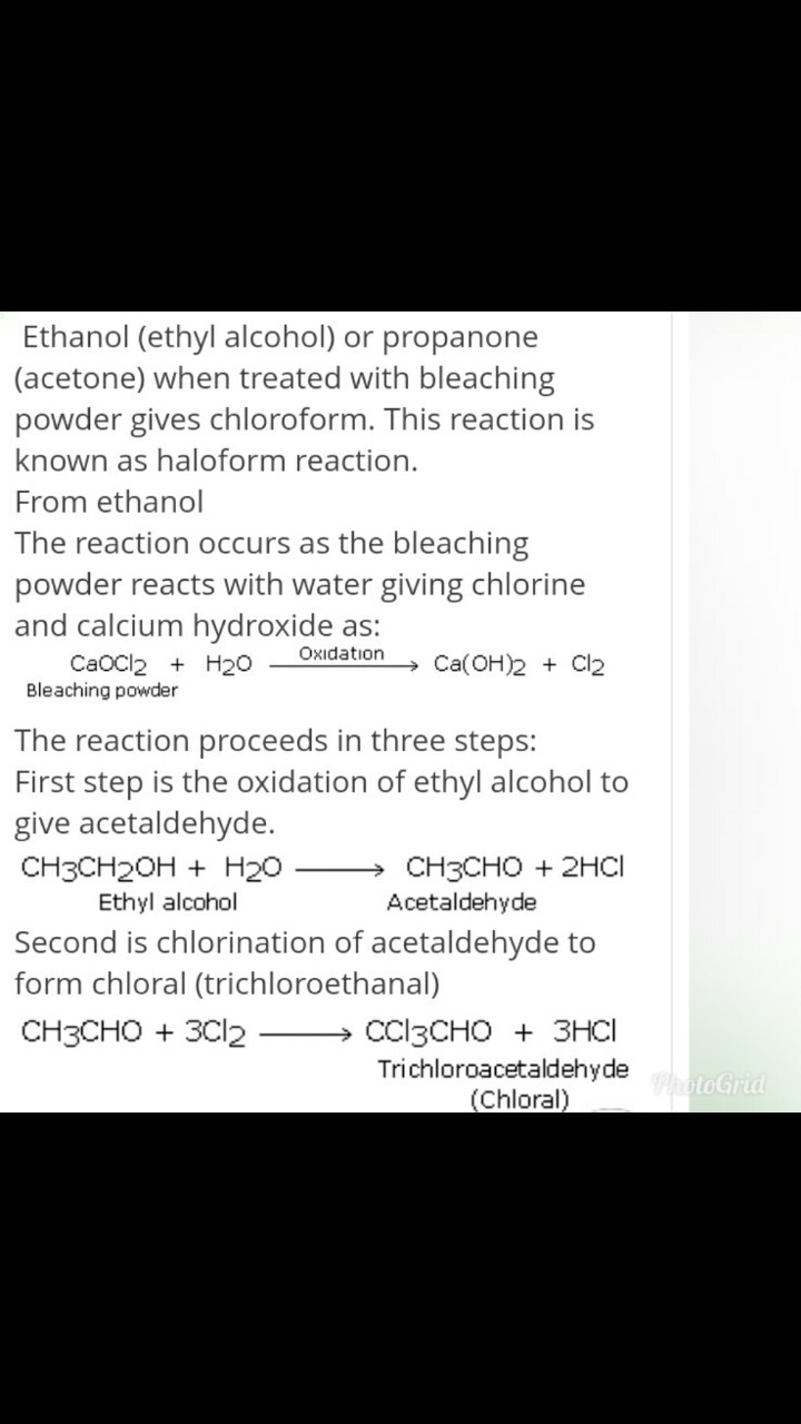 The product formed on reaction of ethyl alcohol with