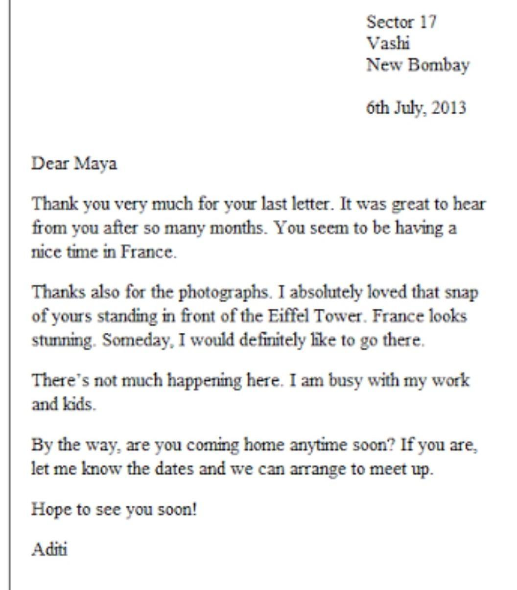 Letter Writing Informal Letter Formal Letter