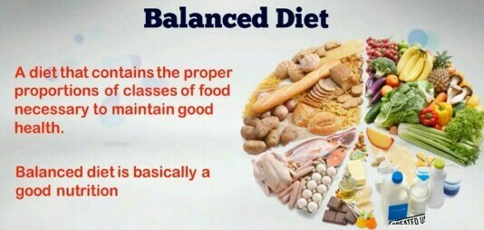 Definition Of Balanced Diet Clear Definition In Short 2 3 Lines