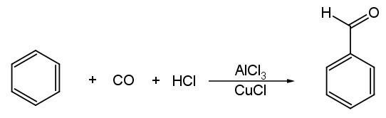Convert benzene to benzaldehyde? - Brainly in