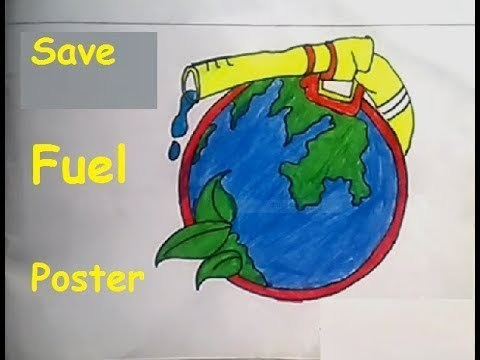 Drawing For The Save Picture Of The Save Fuel For Better