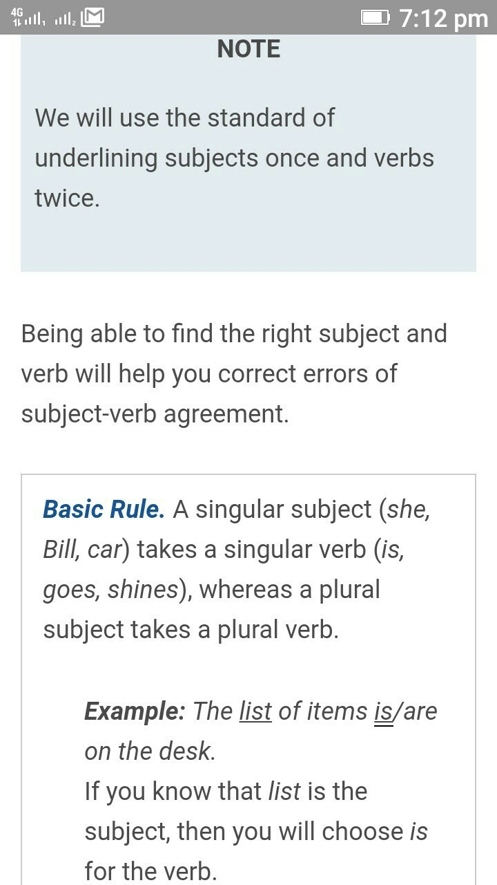 What Is Subject Verb Agreement Brainly