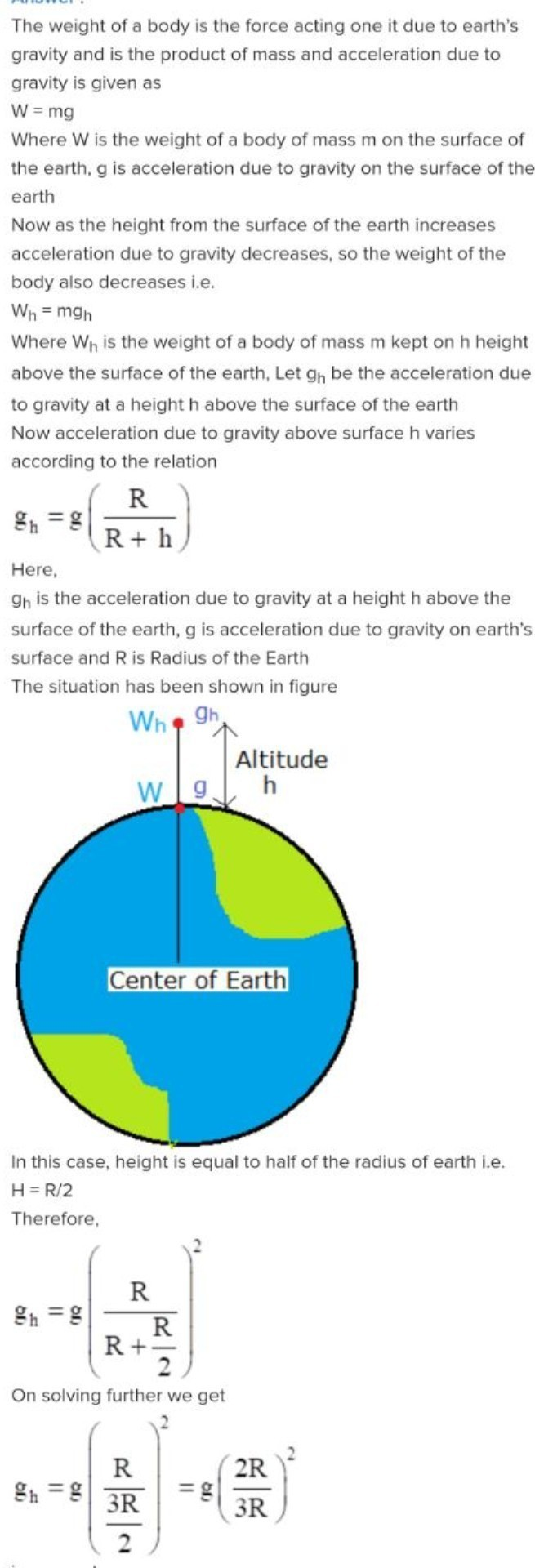 A body 72 n move from the surface of earth at at height 12 of the download jpg ccuart Images