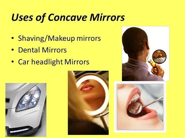 What Are The Uses Of Concave And Convex Mirror With
