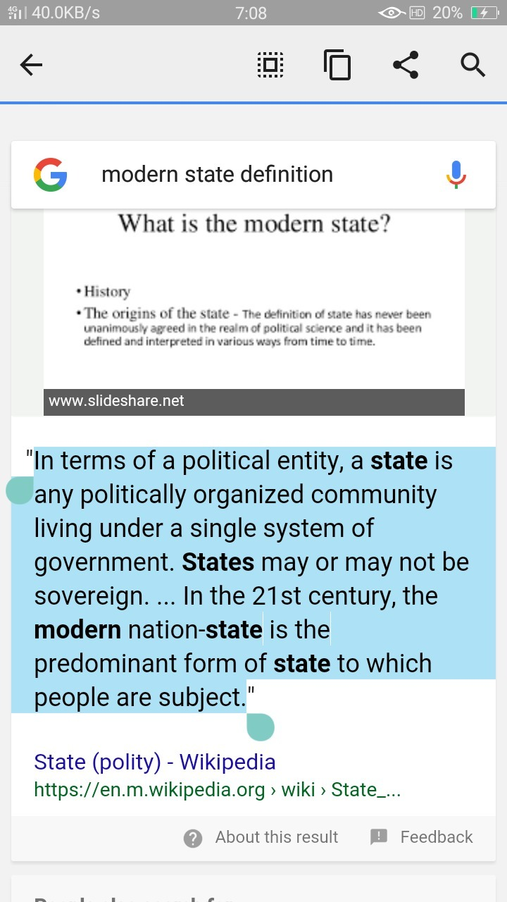 distinguish between a modern state and a nation state.plzzz answer