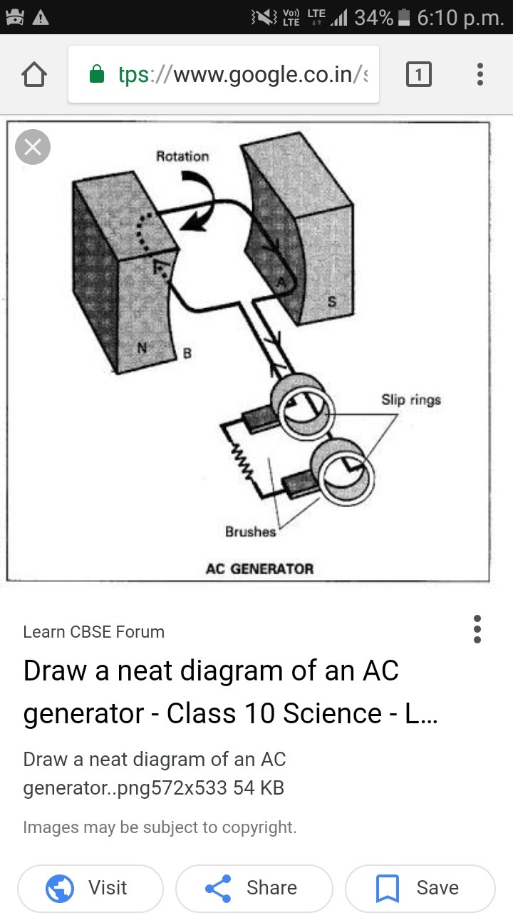 How To Draw Ac Generator Brainly In