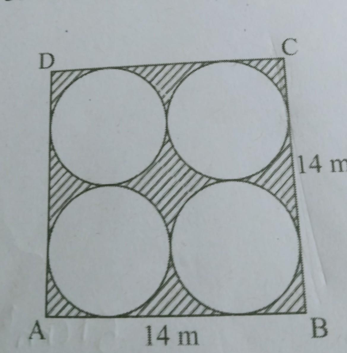 find the shaded area in fig - Brainly.in