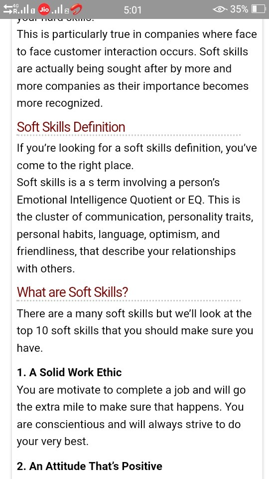 What Is Are Soft Skills Briefly Explain Some Of Them With The Help