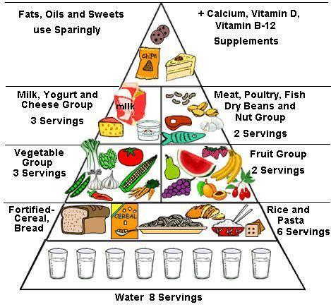 Prepare a balanced diet chart for the age group 9 to 12 brainly in