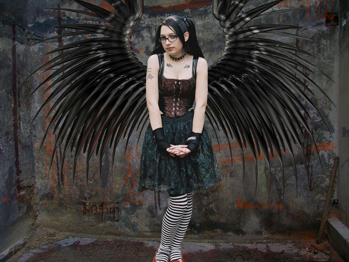 Picture And Meaning Of The Winged Woman Brainly