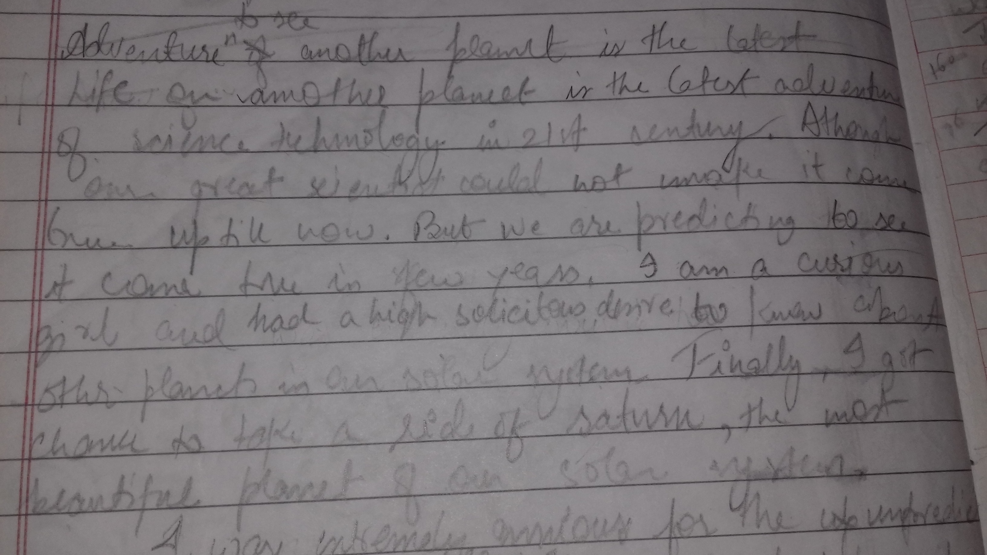 imaginative essay on if i were an astronaut on mars brainly in  jpg