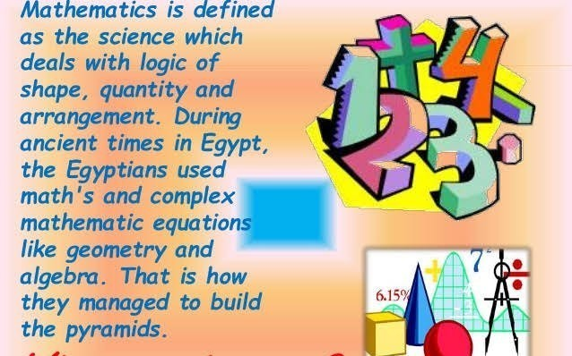 importance of mathematics in daily life pdf