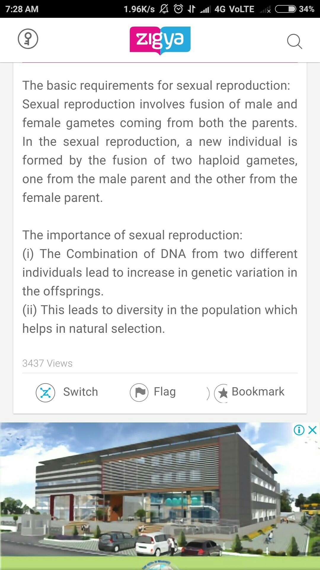 the importance of reproduction