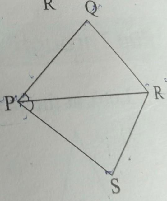 PQRS is a trapezium having PS and QR as parallel sides. A