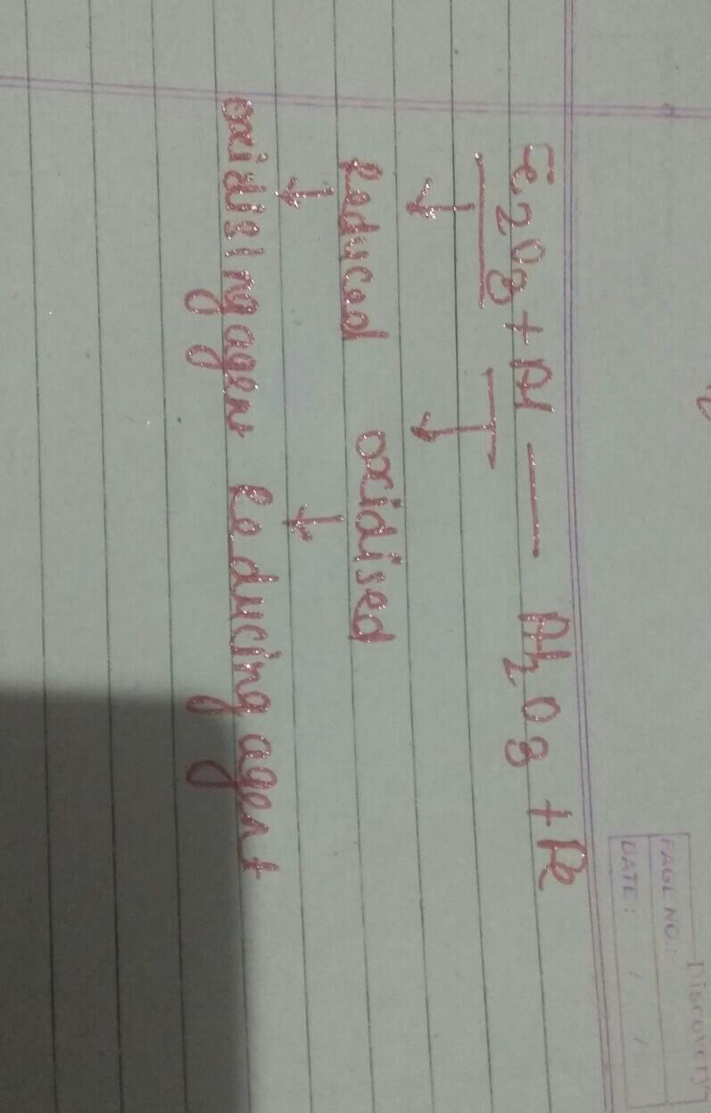 Definitions of oxidation and reduction (redox)