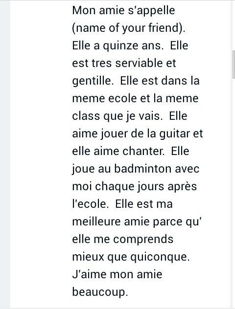 French essays on my best friend professional resume portfolio examples