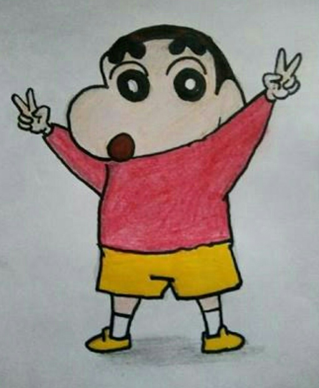Draw Shin Chan S Image Brainly In