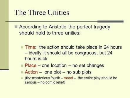 the three unities