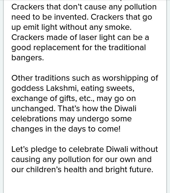 short speech on diwali festival