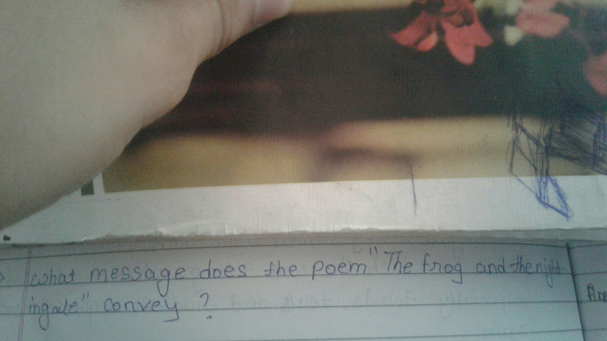 please answer this question of English book class 10th CBSE - Brainly in