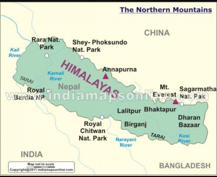 northern mountains of india map Map Of Northern Mountain Ranges Of India Brainly In northern mountains of india map