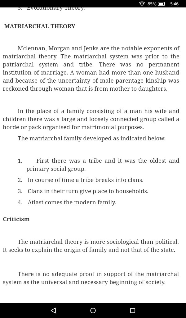 Define Matriarchal theory  - Brainly in