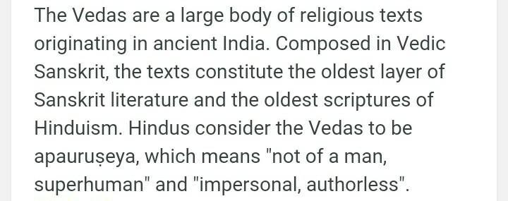 what is the meaning of ved - Brainly.in