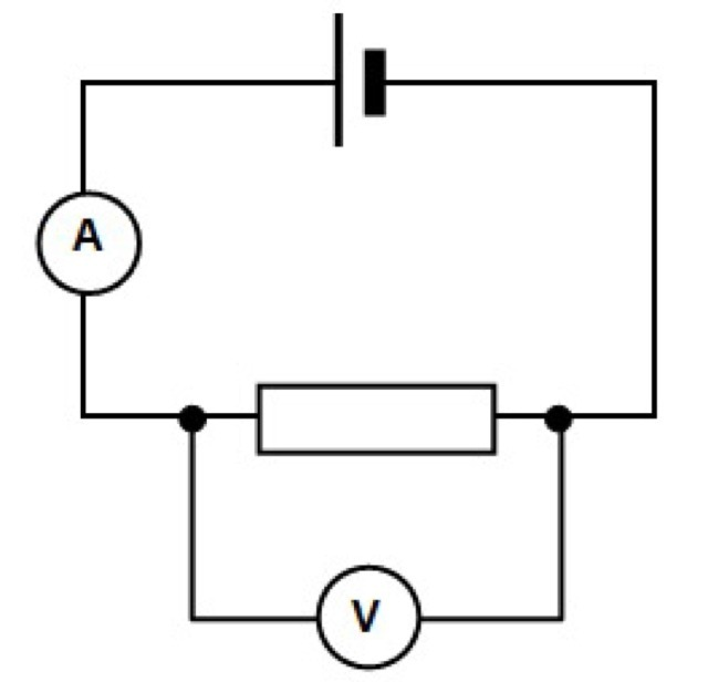 Draw A Labelled Diagram Of Electric Circuit Comprising Of