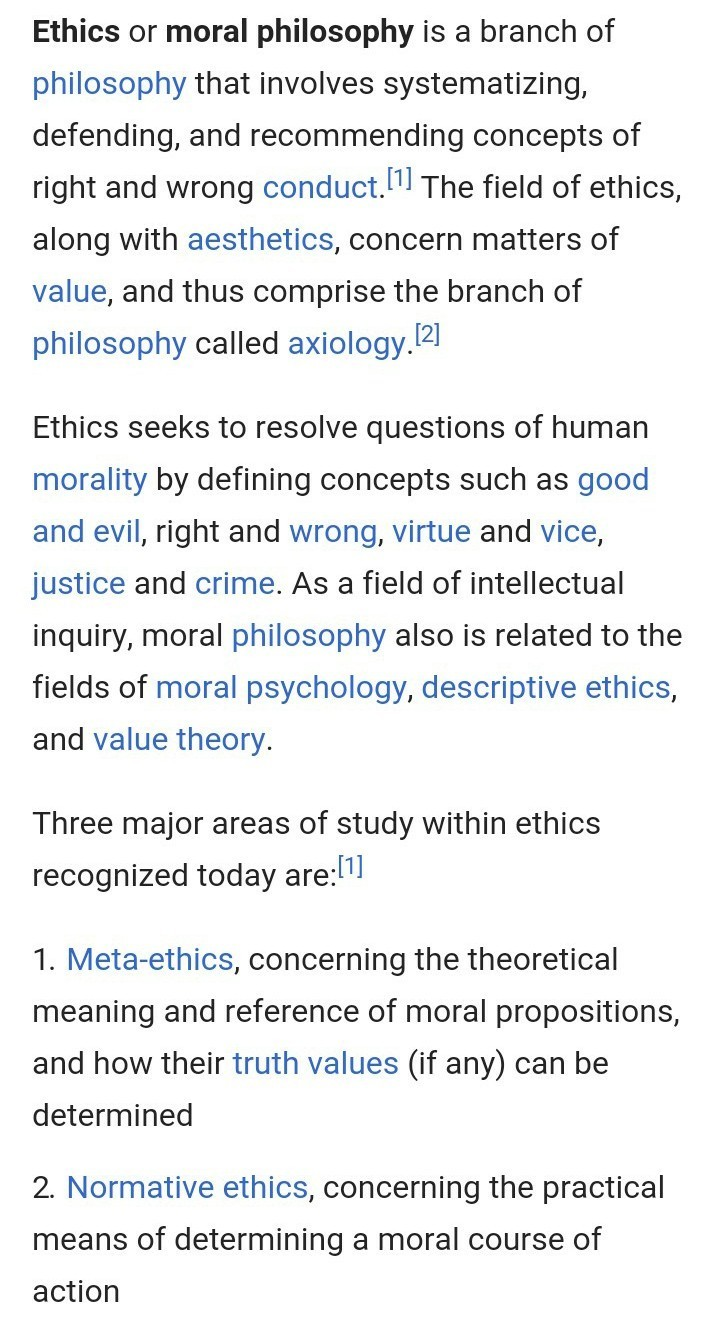 What is Telugu meaning of ethics - Brainly in