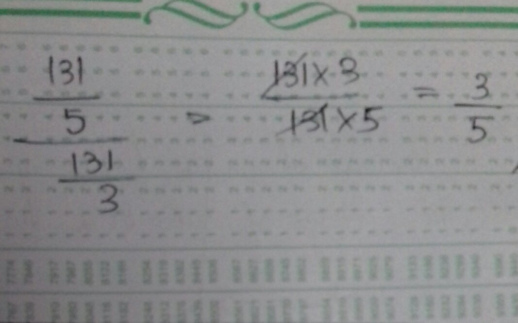 THE SIMPLIFIED FORM OF 13 1/5 /13 1/3 IS - Brainly.in
