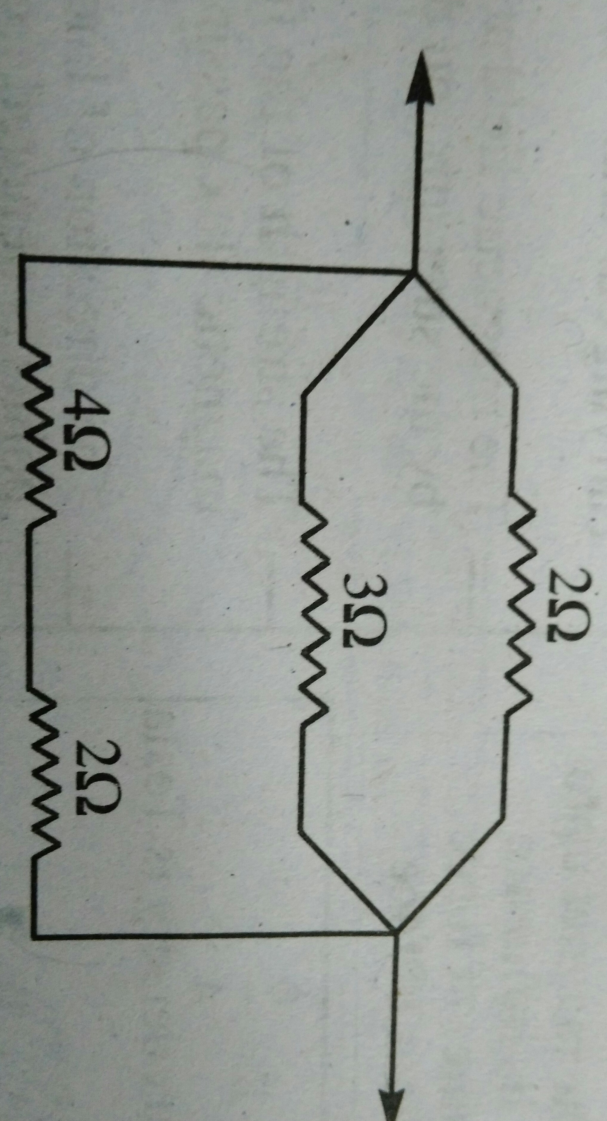 Calculate The Equivalent Resistance Of Following Combination Resistors What Is Circuit Below