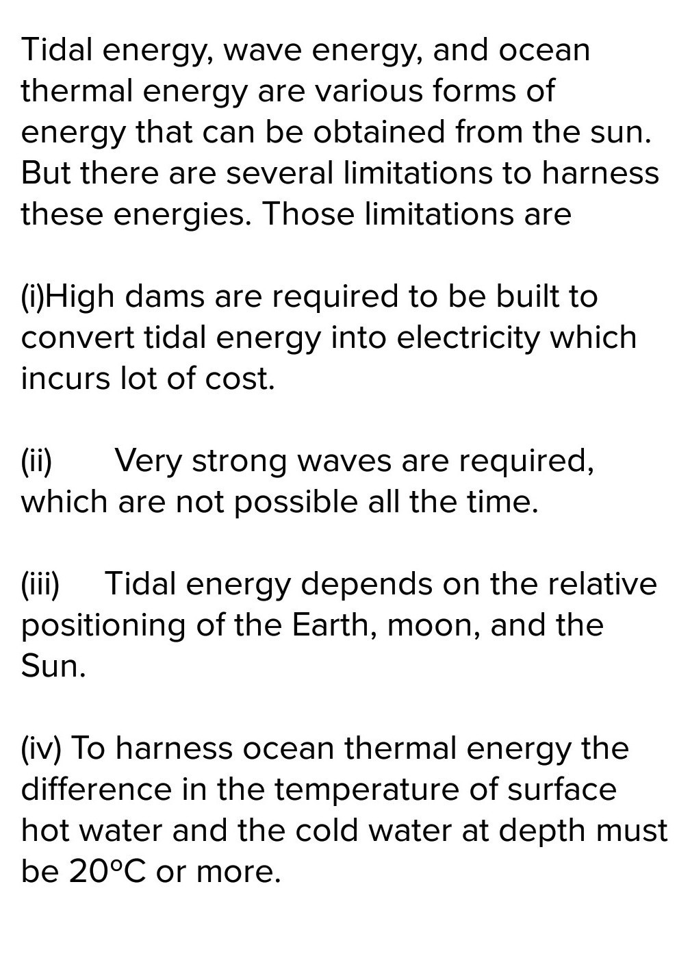 Limitations Of Ocean Thermal Energy - Energy Etfs