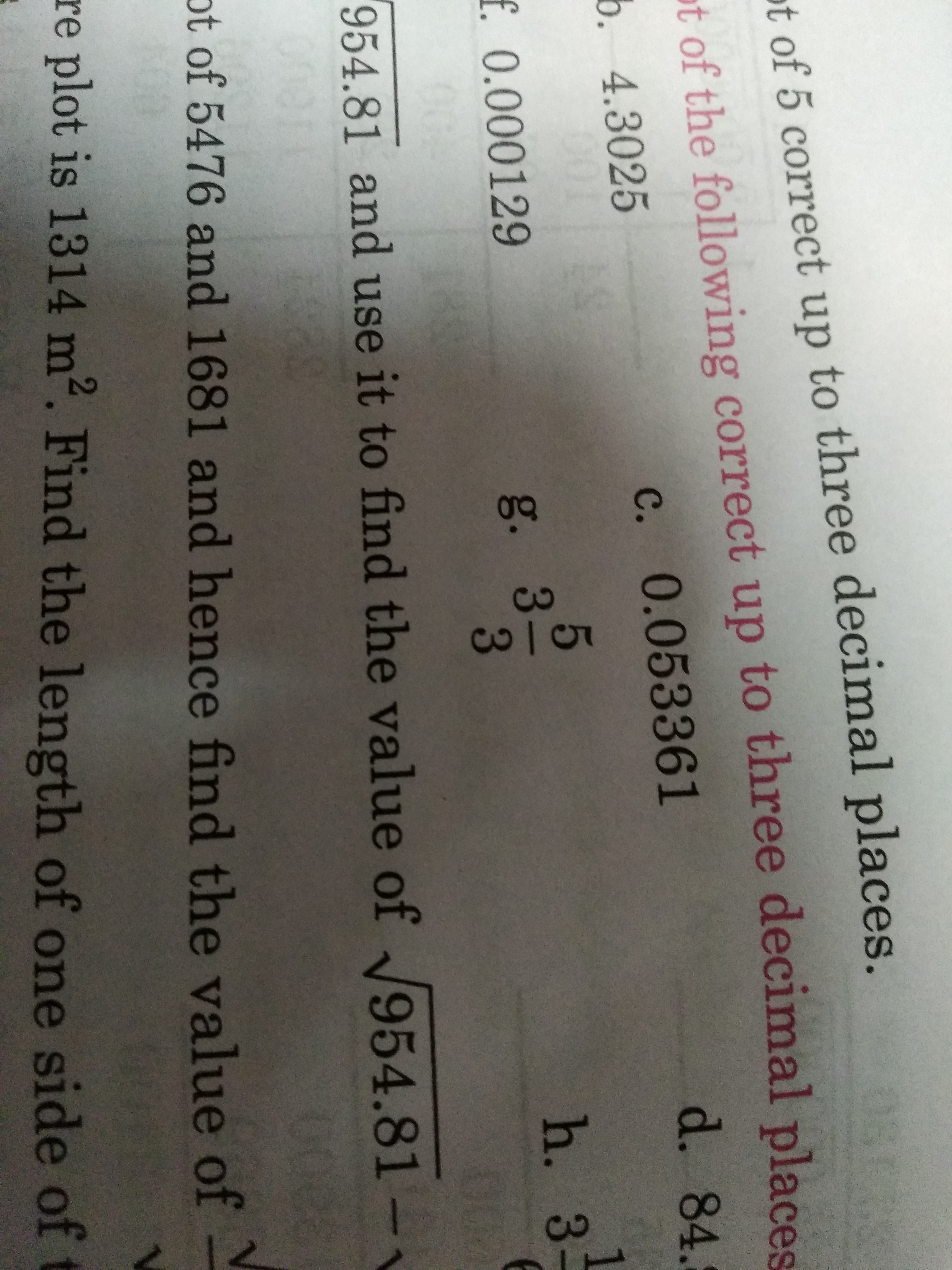 Find The Square Root Of 14 3 Correct Upto Three Decimal Places Plz With Steps Brainly In