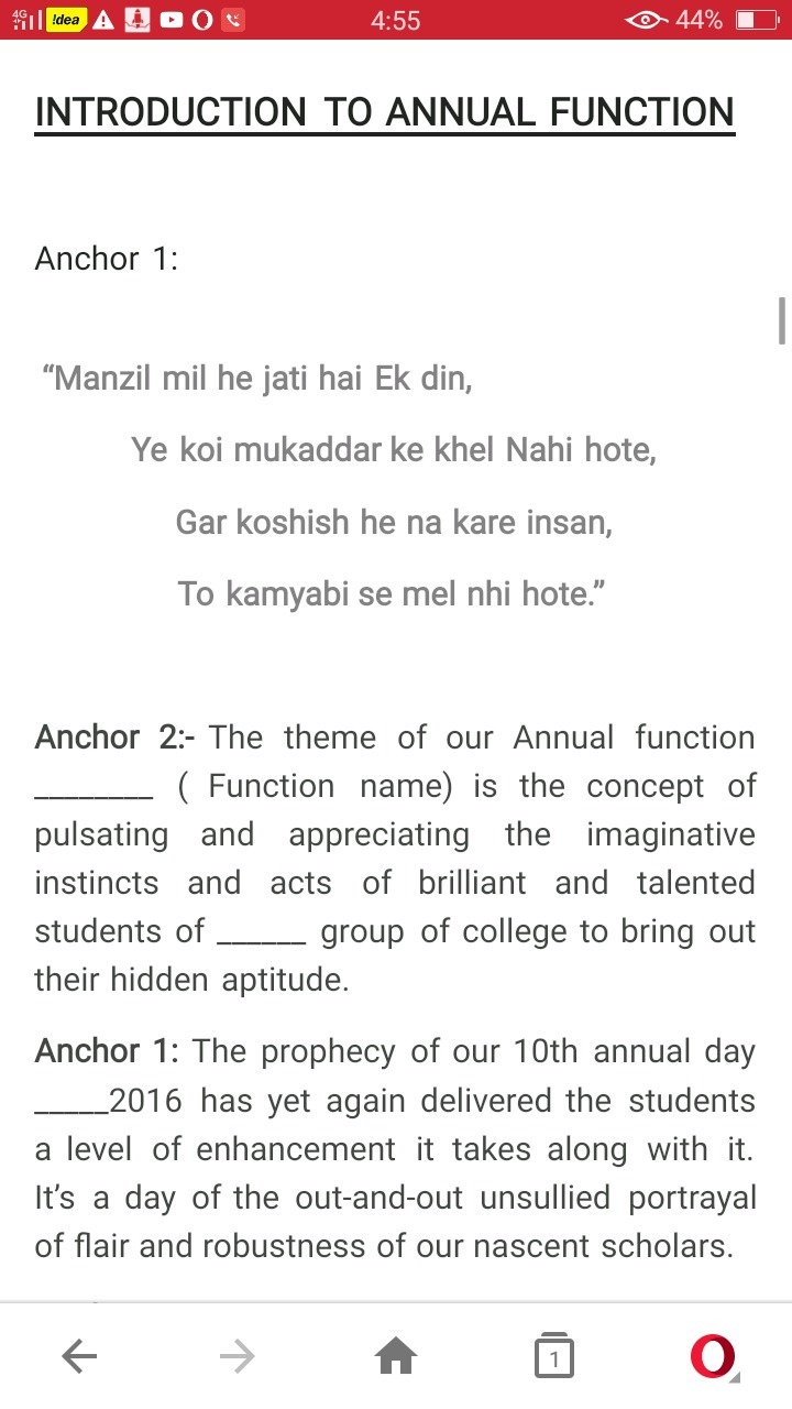 script on annual day function How to have the best a welcome speech for school annual day – template  welcome address adds a color for a function when it is done with proper way here i have .