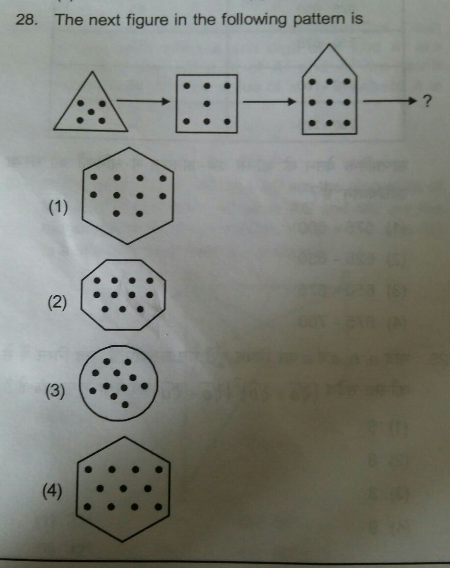 Ans This Pattern Its Ans Is Very Important For Me Brainly In
