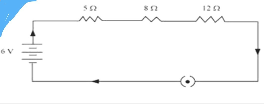 1  write the difference between resistance in series and parallel 2 draw a schematic diagram of