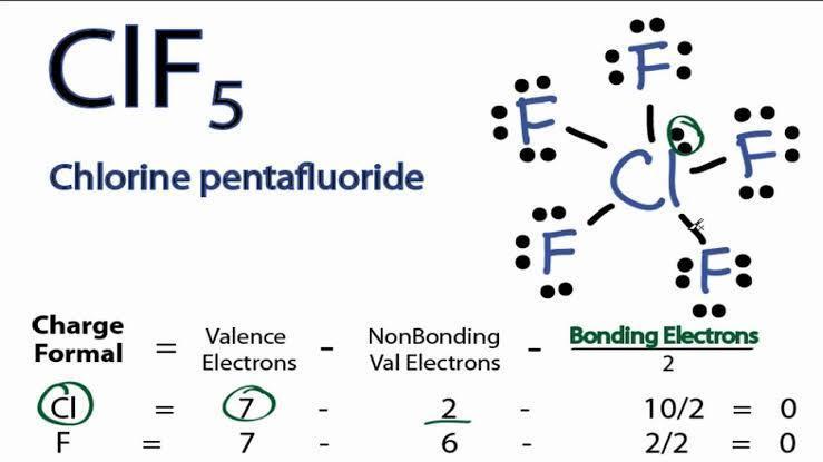 Chlorine Pentafluoride Lewis Dot Diagram Electrical Wiring Diagram