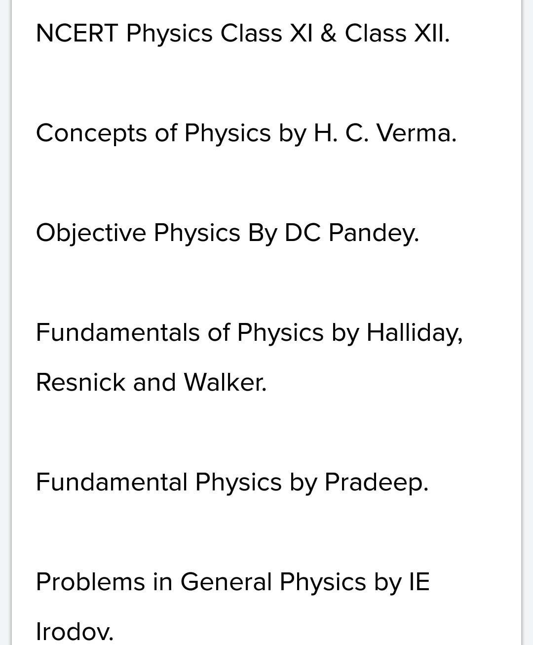 Any experienced guy,suggest the books for NEET 2020 for self study