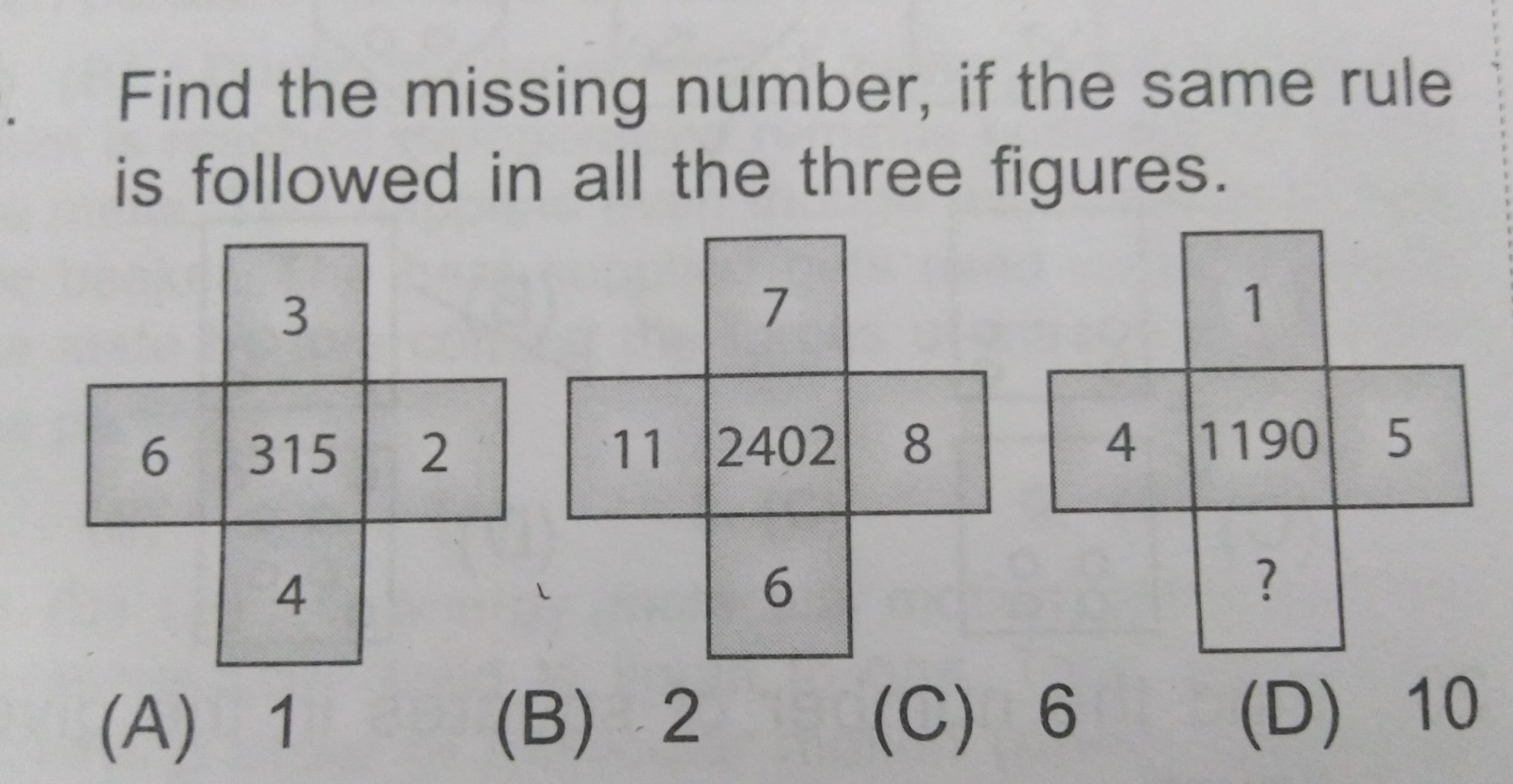 PLZ ANSWER THIS LOGICAL REASONING QUESTIONS OF NSO LEVEL 2