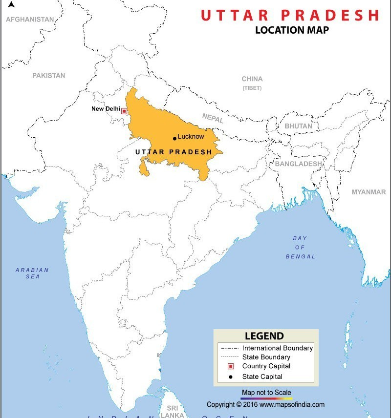 Jhansi In India Map map of india political fill in jhansi or lucknow   Brainly.in