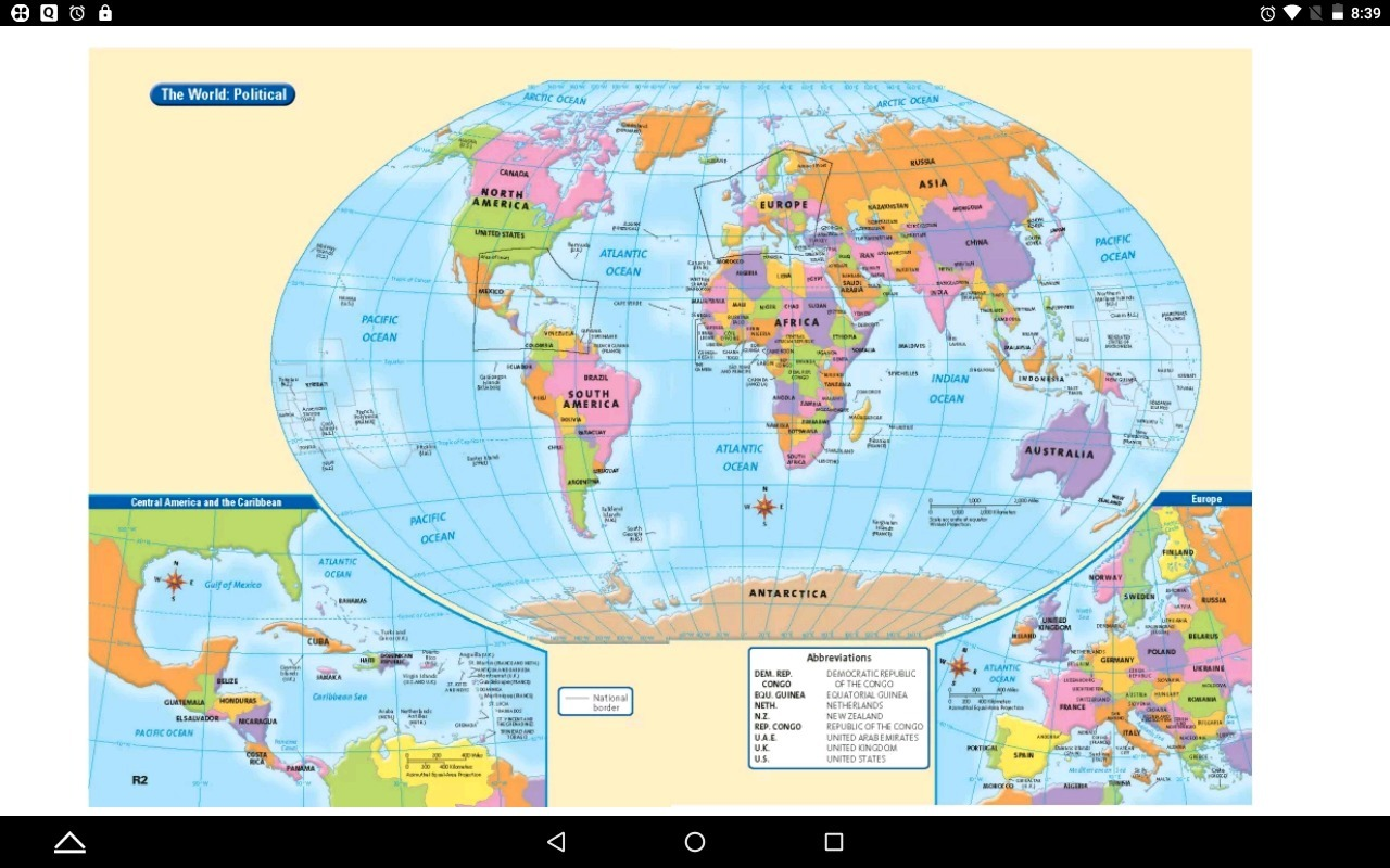 Picture of: Interactive World Map With Latitude And Longitude Brainly In