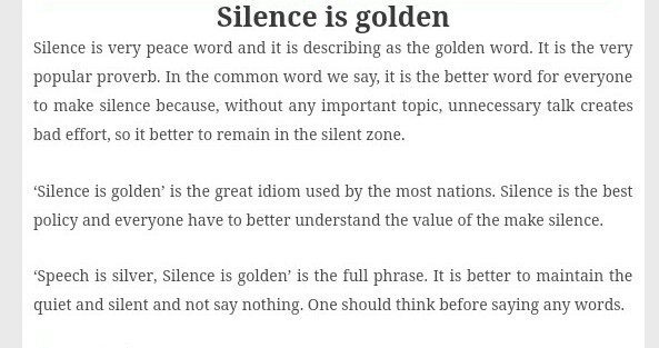 Essay On Silence Is Gold  Brainlyin Download Jpg Pay To Take My Online Class also Custom Business Plans  Essay Com In English