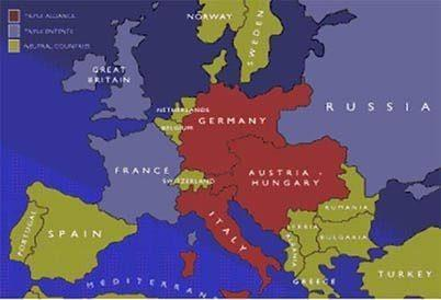 locate the following in the world map Britain France Russia ...