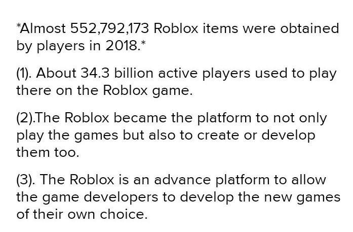 How Many Active Users On Roblox How Many Active Users Does Roblox Have Per Monthhow Many Roblox