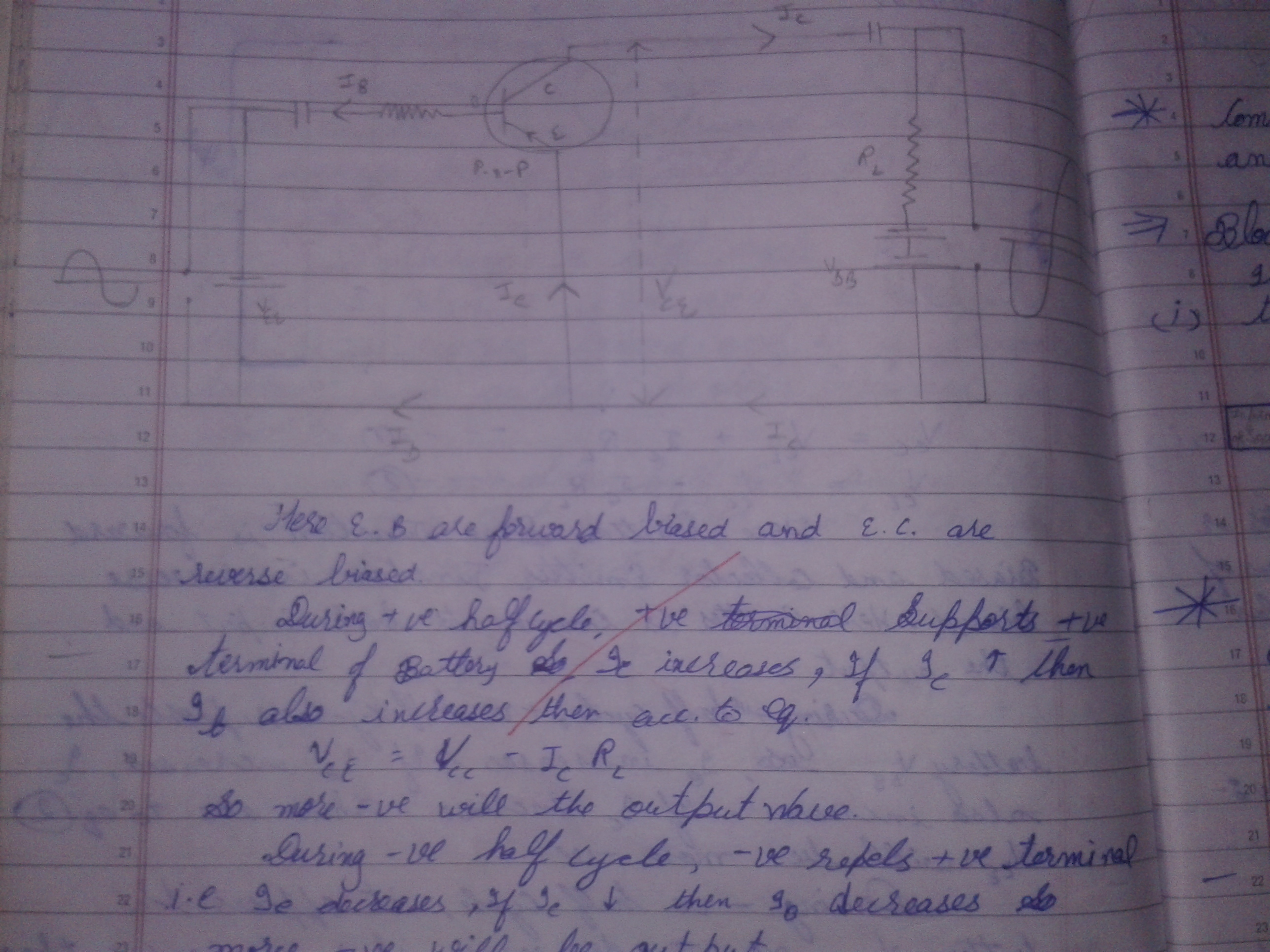 Explain Working Of A Pnp Transistor Along With Labelled Diagram This Is Explanation For