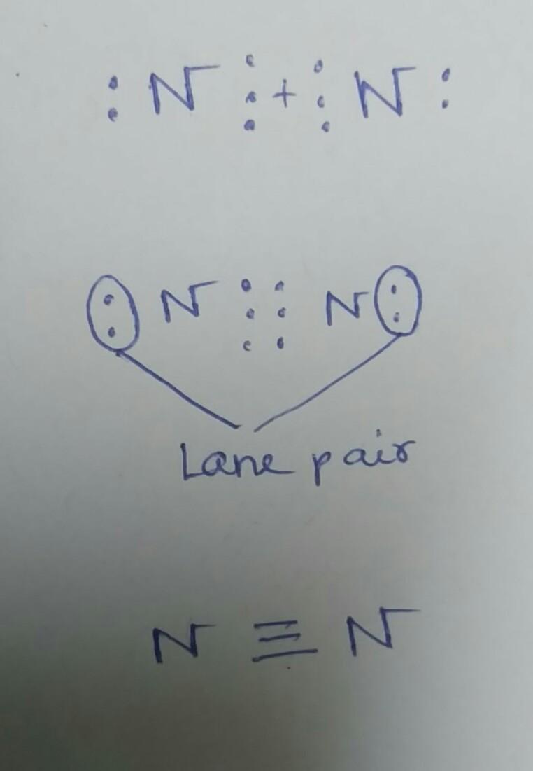 Lewis Dot Diagram For N2